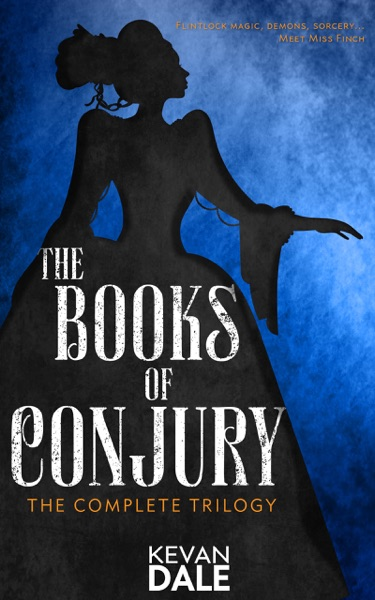 The Books of Conjury - Kevan Dale book cover