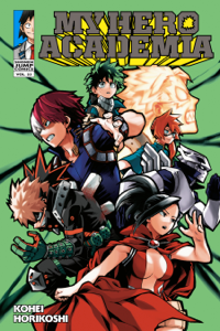 My Hero Academia, Vol. 22 Copertina del libro