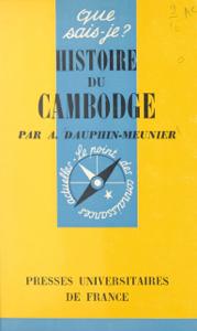 Histoire du Cambodge La couverture du livre martien