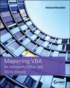 Mastering VBA for Microsoft Office 365 Book Cover