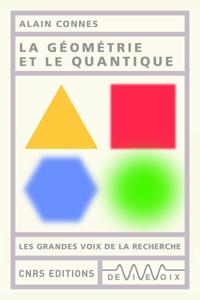 La géométrie et le quantique La couverture du livre martien