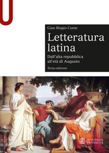 LETTERATURA LATINA - Edizione digitale - Dall'alta repubblica all'età di Augusto Libro Cover