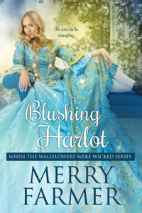 The Blushing Harlot Book Cover