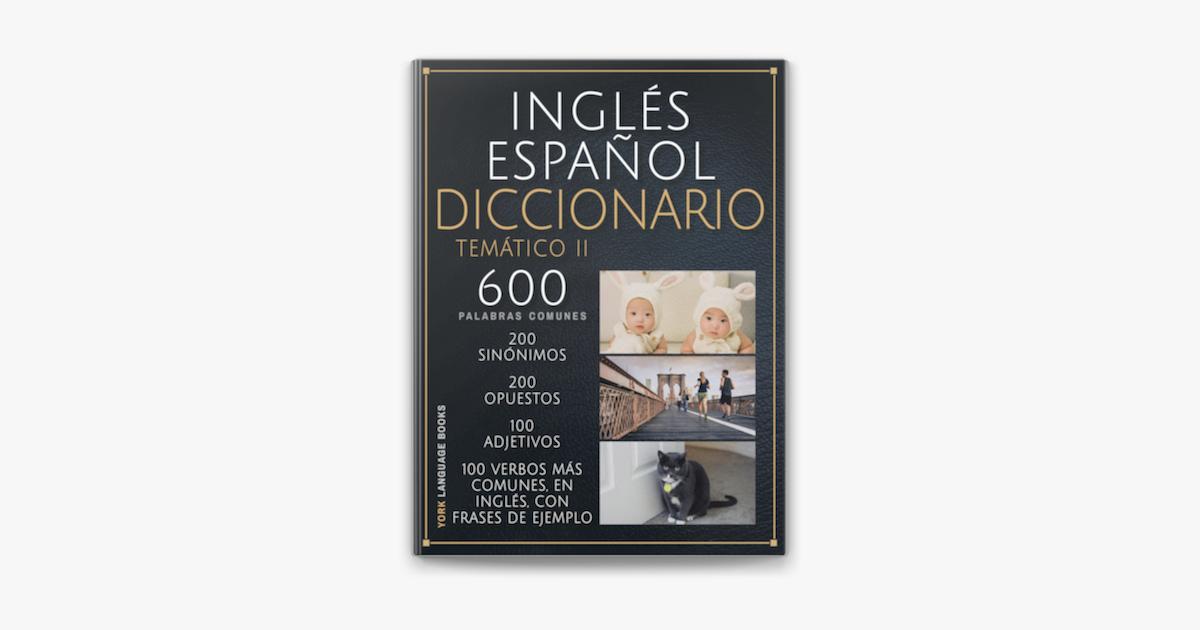 Inglés Español Diccionario Temático Ii In Apple Books