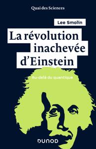 La révolution inachevée d'Einstein La couverture du livre martien