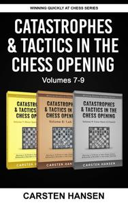 Catastrophes & Tactics in the Chess Opening - Boxset 3 Copertina del libro