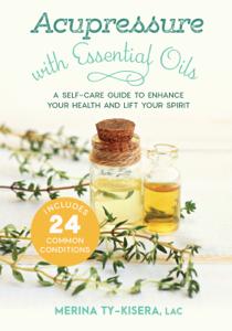 Acupressure with Essential Oils La couverture du livre martien