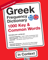 J.L. Laide & MostUsedWords Com - Greek Frequency Dictionary - 1000 Key & Common Words in Context artwork