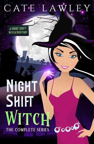 Night Shift Witch Complete Series - Cate Lawley book cover