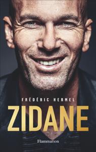 Zidane La couverture du livre martien