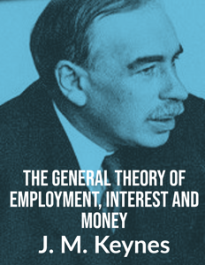 The General Theory of Employment, Interest  & Money Copertina del libro