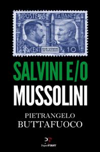 Salvini e/o Mussolini Copertina del libro