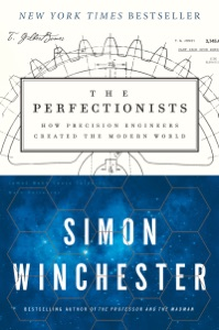 The Perfectionists by Simon Winchester Book Cover