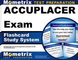 ACCUPLACER Exam Flashcard Study System: