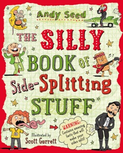 The Silly Book of Side-Splitting Stuff Book Cover