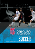 2019-20 NFHS Soccer Rules Book
