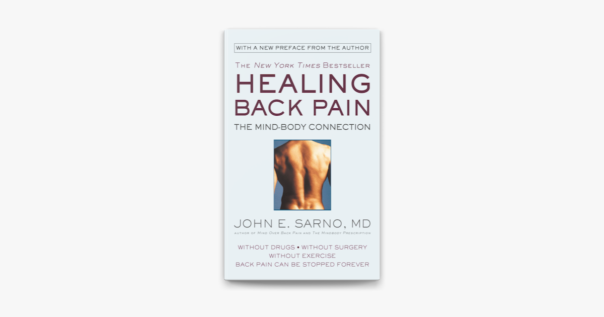 Healing Back Pain - John E. Sarno