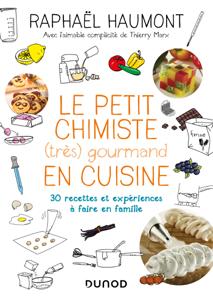 Le petit chimiste (très)  gourmand en cuisine 3e éd. La couverture du livre martien