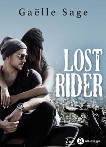 Lost Rider La couverture du livre martien