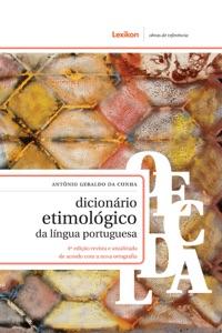 Dicionário etimológico da língua Portuguesa Book Cover