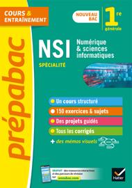Numérique et sciences informatiques 1re (spécialité) - Prépabac Cours & entraînement