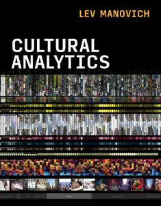 Cultural Analytics Copertina del libro