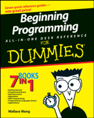 Beginning Programming All-in-One Desk Reference For Dummies Book Cover