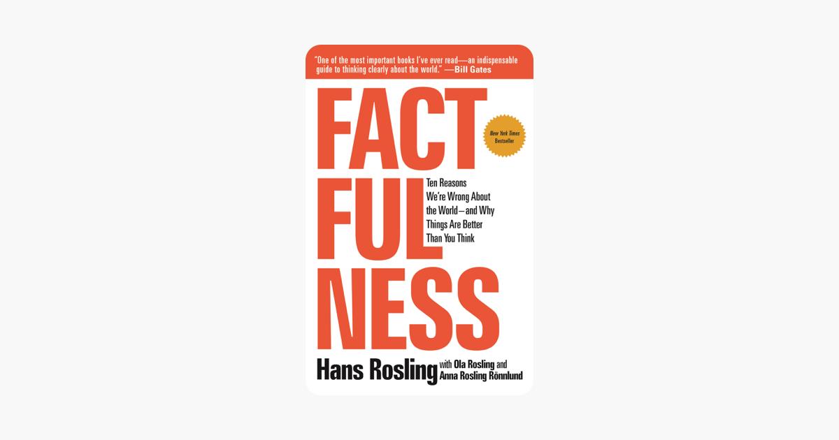 Factfulness - Hans Rosling, Anna Rosling Rönnlund & Ola Rosling