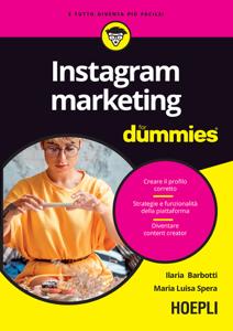 Instagram marketing for dummies Copertina del libro