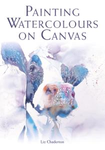Painting Watercolours on Canvas Boekomslag