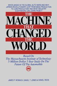 The Machine That Changed the World Copertina del libro