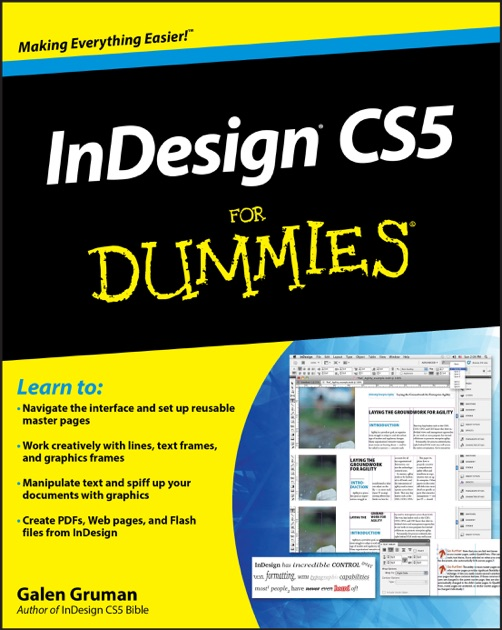 InDesign CS5 For Dummies by Galen Gruman on Apple Books