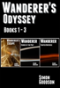 Simon Goodson - Wanderer's Odyssey - Books 1 to 3  artwork