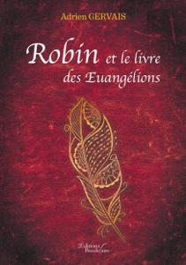 Robin et le livre des Euangélions La couverture du livre martien