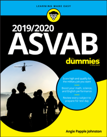 2019/2020 ASVAB For Dummies book