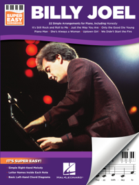 Billy Joel - Super Easy Songbook for Piano