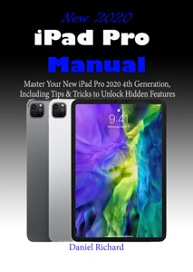 New 2020 iPad Pro Manual Book Cover