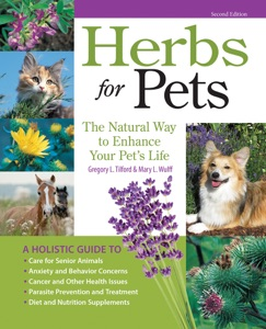 Herbs for Pets Book Cover