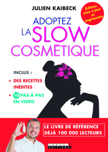 Adoptez la slow cosmétique La couverture du livre martien