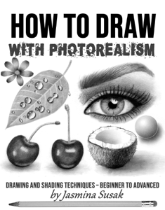 How to Draw with Photorealism Boekomslag