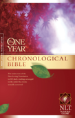 The One Year Chronological Bible NLT Book Cover