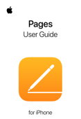 Pages User Guide for iPhone