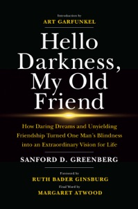 Hello Darkness, My Old Friend: How Daring Dreams and Unyielding Friendship Turned One Man's Blindness Into an Extraordinary Vision for Life Book Cover