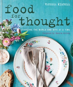 Food for Thought: Changing the world one bite at a time da Vanessa Kimbell Copertina del libro