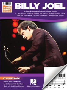 Billy Joel - Super Easy Songbook for Piano Book Cover