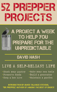 52 Prepper Projects Book Cover