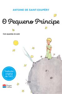 O pequeno príncipe (original) Capa de livro