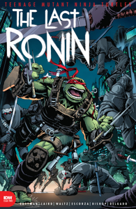 Teenage Mutant Ninja Turtles: The Last Ronin #2 Book Cover