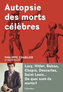 Autopsie des morts célèbres La couverture du livre martien