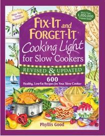 Fix-It and Forget-It Cooking Light for Slow Cookers PDF Download